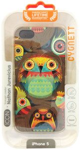 Cygnett ICON Series Nathan Jurevicius - Hoots Art iPhone 5/5s Case - CY0981CPICO