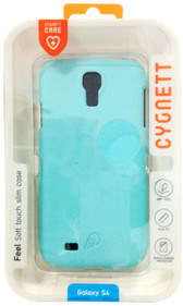 Cygnett Feel Slim Matte Case For Samsung Galaxy S4 - Mint - CY1199CXFEE