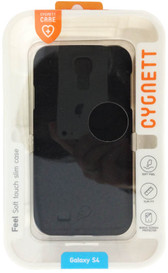 Cygnett Feel Slim Matte Case For Samsung Galaxy S4 - Black - CY1168CXFRO