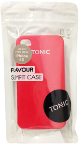 Tonic Flavour Slim Fit Case For iPhone 4/4s - Red - TN0411CPFLV