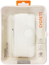 Cygnett Paparazzi Textured Flip Case For iPhone 4/4s - White - CY0684CPSKI