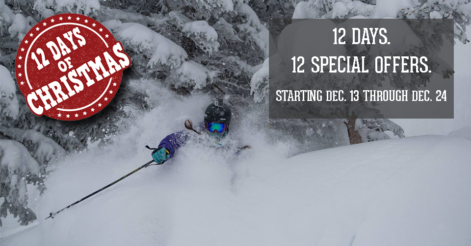 12 days of Christmas Ski Sale