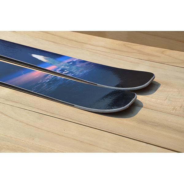 9D ski tails