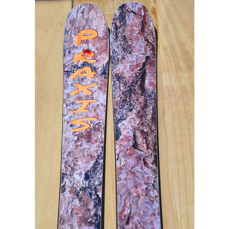 9D8 Ski nylon top wood bark carving print.jpg