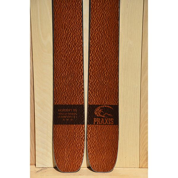 BC 180 lacewood veneer ski 8054