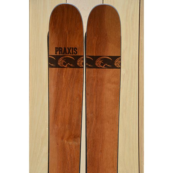 BC 180 birch veneer ski 8056