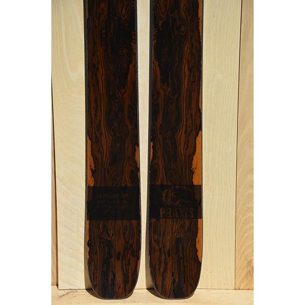 BC 190 unknown veneer ski 8057