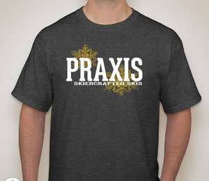 Praxis T-shirt — Dark Heather