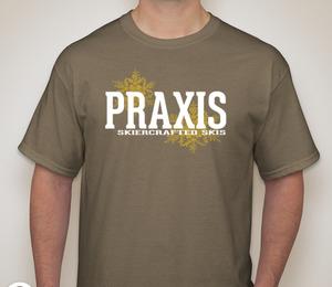 Praxis Skiercrafted Prairie Dust T-Shirt