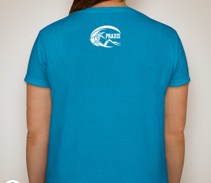 Ladies T-shirt — Sapphire