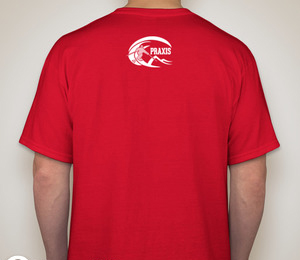 Praxis Skiercrafted Red T-Shirt