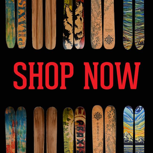 Shop Now - Custom Skis
