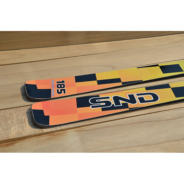 SND ski tail profile