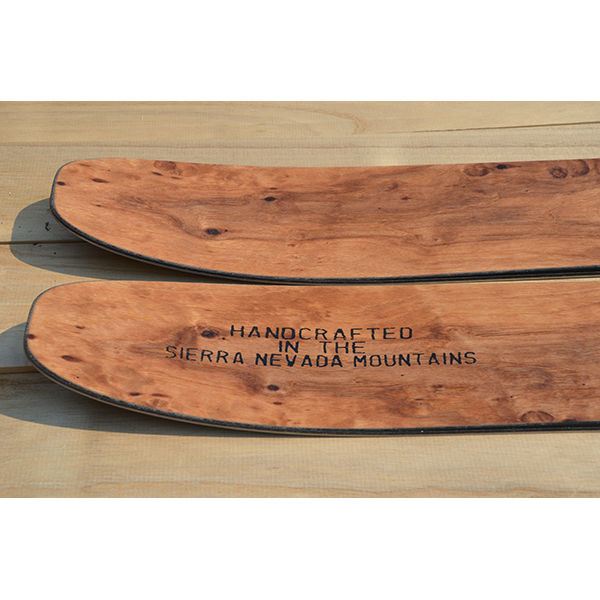 Ullr powder ski tail upturn - rocker