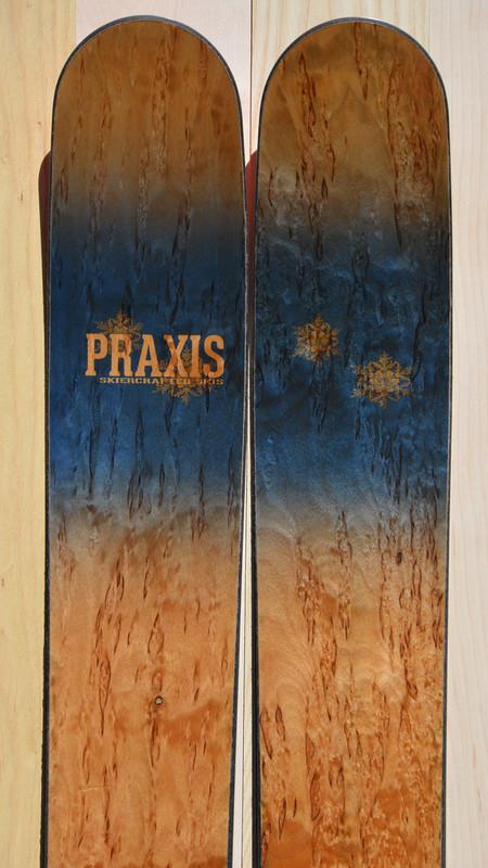 BPS powder ski 193 cm with karelian birch veneer