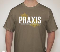 Praxis Skiercrafted Skis Prairie Dust T-Shirt