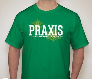 Skiercrafted T-shirt — Irish Green