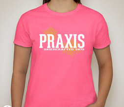 Ladies T-shirt — Safety Pink
