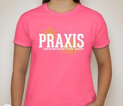 Ladies T-shirt — Safety Pink