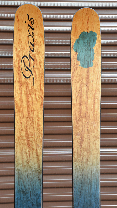 Keep Tahoe Blue Special Edition Skis