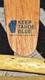 Keep Tahoe Blue Logo on Praxis Skis