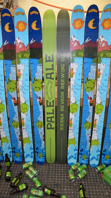 Sierra Nevada Brewing Co. Special Limited Edition Custom Ski