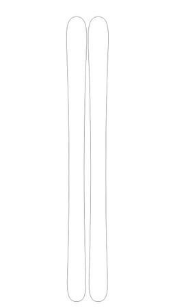 9D8 Custom Ski