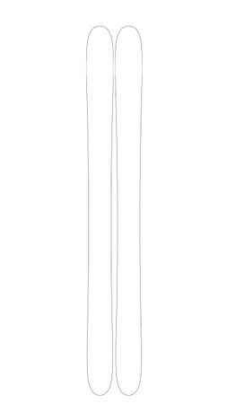 MVP 109 Custom Ski