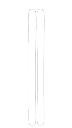 Yeti Custom Ski