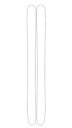 Quixote Custom Ski