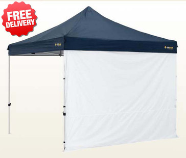 OZtrail Deluxe Gazebo Pavilion Solid Side Wall - 3 meters (Angle View)
