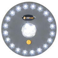 Oztrail UFO 23 LED Portable Tent Light Lamp - Lights On