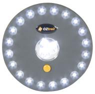 Oztrail UFO 23 LED Portable Tent Light Lamp - Lights On