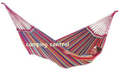 Siesta Brazilian Single Hammock - 150 x 205cm (Angle View)