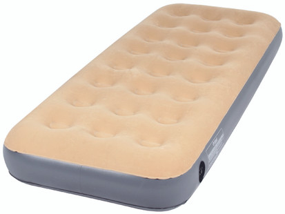 OZtrail Single Inflatable Velour Air Bed Mat Mattress