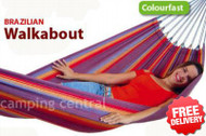 Brazilian Walkabout Single Cotton Hammock - With Free Shipping