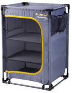 OZtrail 3-Shelf Camping Cupboard Storage
