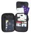 Caribee Travel Grip Passport Wallet Bag Organiser - Actual View