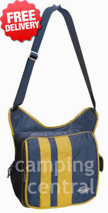 Caribee Messenger Shoulder Tote Satchel Bag - With Free Shipping