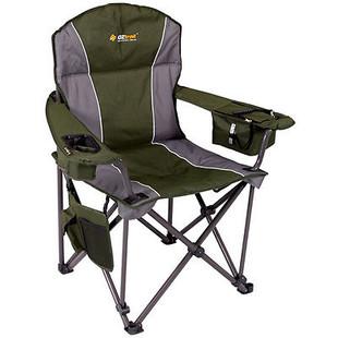 OZtrail Titan Folding Portable Camping Picnic Arm Chair - Green