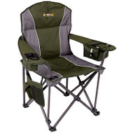 OZtrail Titan Folding Portable Camping Picnic Arm Chair - Green