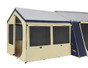 OZtrail Canvas Cabin Tent 10 X 8 - Optional Sunroom Tent