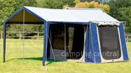 OZtrail Canvas Cabin Tent 10 X 8 - Angel View