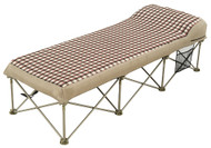 OZtrail Instant Camping Camp Portable Folding Air Bed - (Top Angle View)