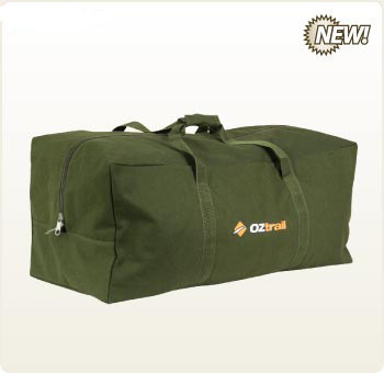 OZtrail Canvas Duffle Luggage Bag X-Large Overnight - With Free Shipping.  Larger   More Photos f120de87ea7a0
