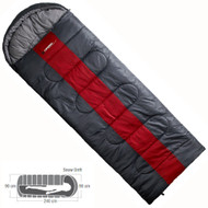 Caribee Snow Drift -10 Celcius Jumbo Sleeping Bag