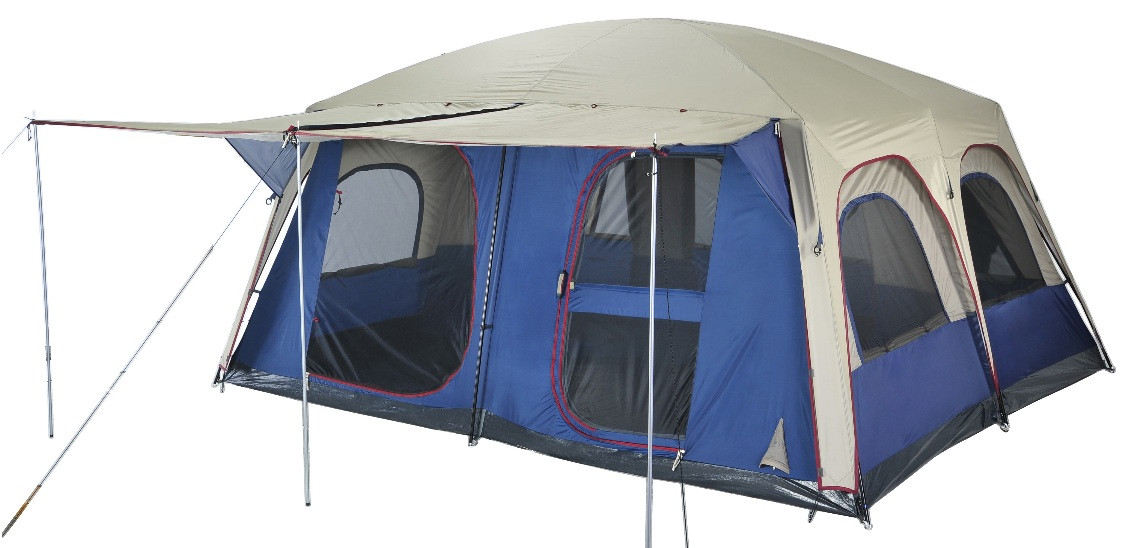 C&ing Central  sc 1 st  C&ing Central & OZtrail Sportiva Lodge Combo Large Family Tent - Sleeps 12