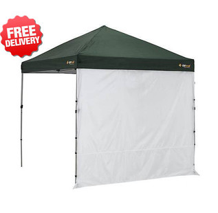OZtrail Compact Gazebo Solid Side Wall 2.4m - with Free Shipping