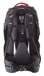 Black Wolf Cedar Breaks 75 Litre Backpack Travelpack (Navy) - Back View