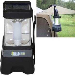 Coleman Lithium LED Easy Hang Rechargeable Lantern - Angle View